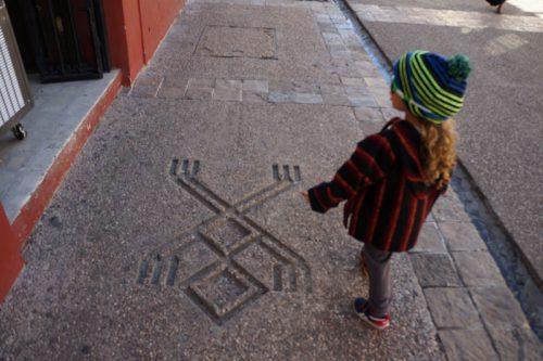 Designs on the ground