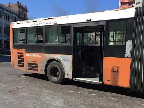 Old Bendy Bus