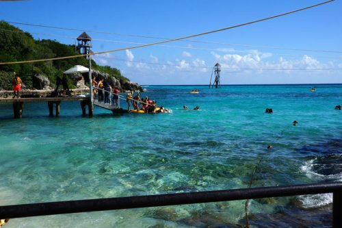 Snorkelling at Garrafon