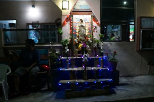 Altar for Mary of Guadalupe