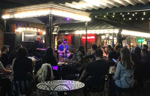 Live Jazz at Cafe Beignet