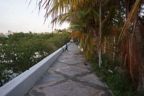 Lagoona walkway
