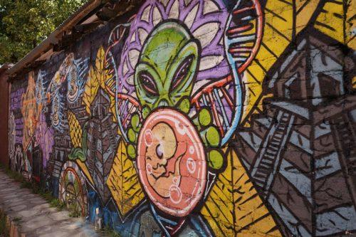 Lots of interesting murals