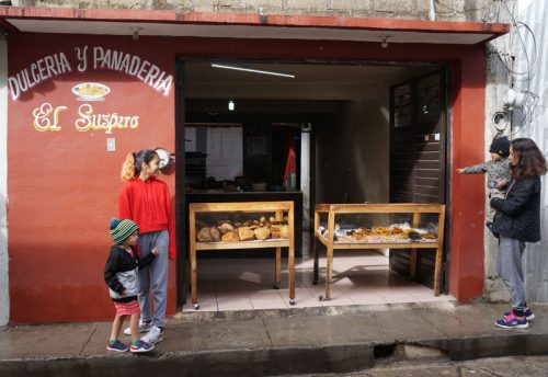Street side Panaderias