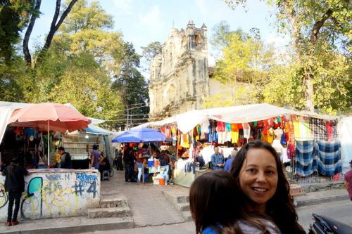 The markets next to Santa Domingue