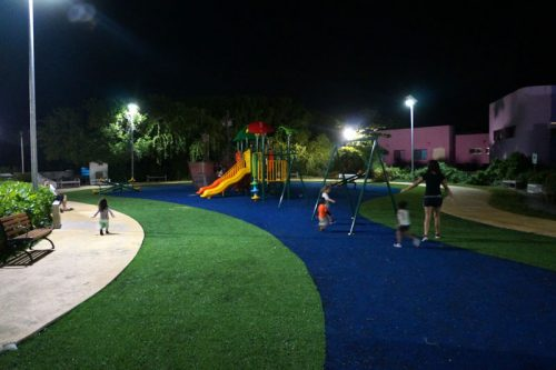 Playground we mostly visited at night