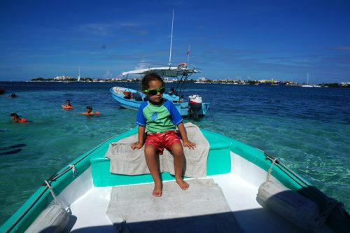 Snorkelling trip boat