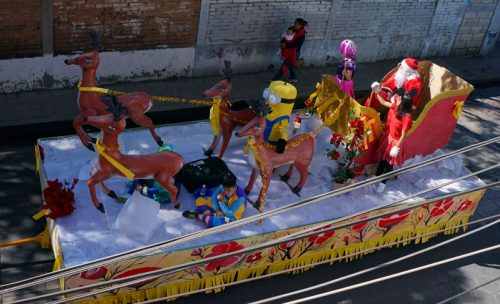 Float for Xmas procession