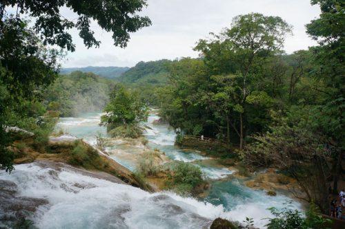 Aqua Azul Waterfalls