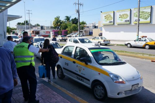 Chetumal ADO - getting a taxi to the mariner