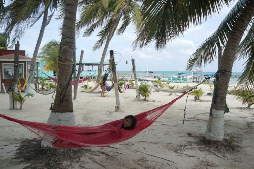 Hammocks by the waterfront