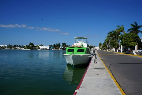 The ferry from Chetumal to Caye Caulker