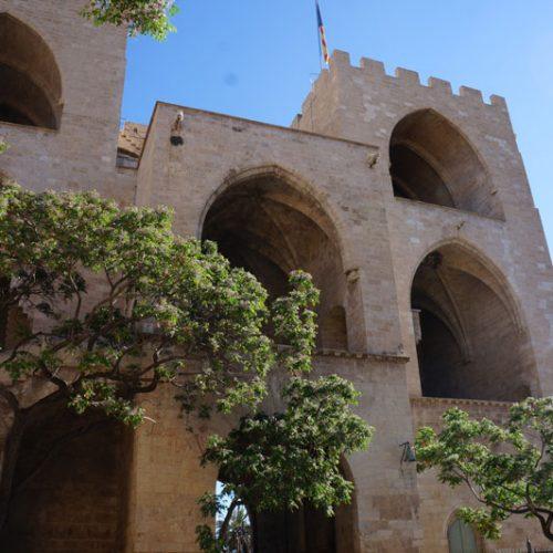 Valencia-castle