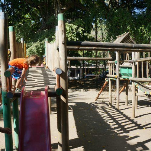 Playground in Montezuma town