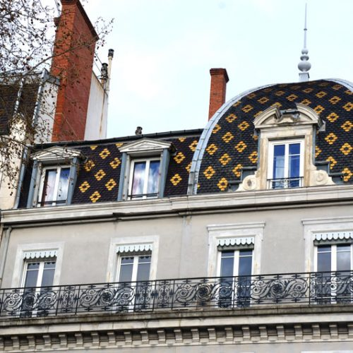 A Netherlands style roof in Lyon
