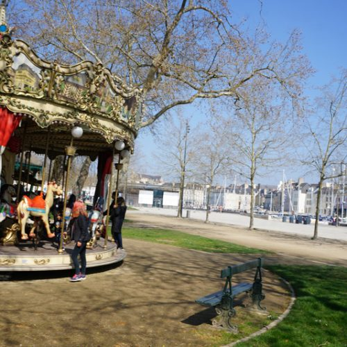 Every town in France seems to have it's own carousel