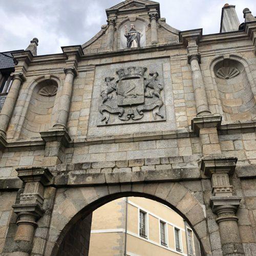 Vannes old city gate
