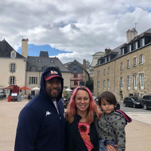 Visiting Pat in Vannes