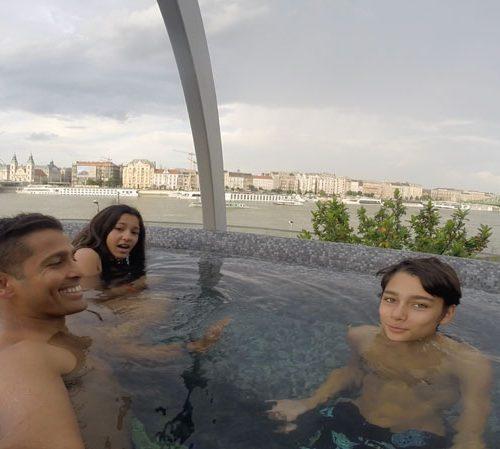 Rudas rooftop mineral bath 2019