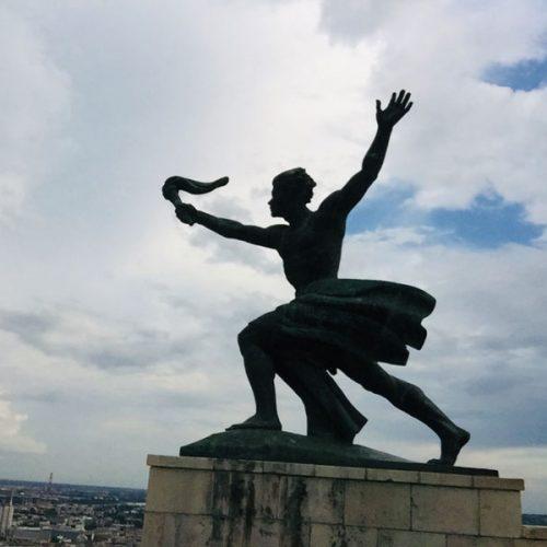 Gellert Hill in Budapest June 2019